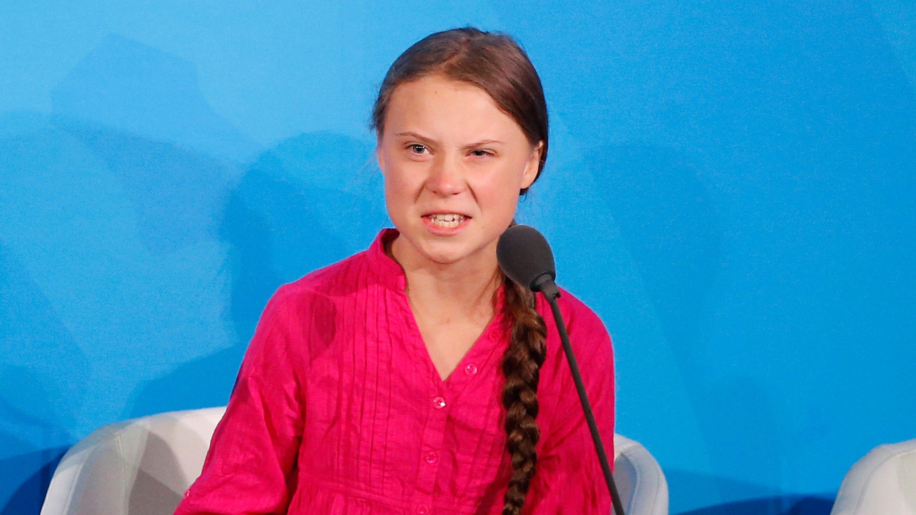 Transcript of Greta Thunberg speech on climate change ...