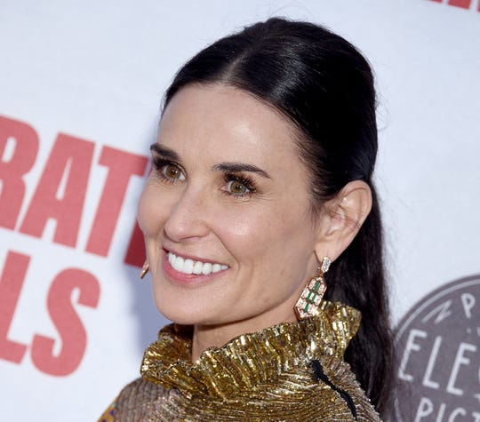 """Demi Moore at the Los Angeles premiere of """"Corporate Animals"""" on Sept. 18, 2019 in Hollywood, Calif."""