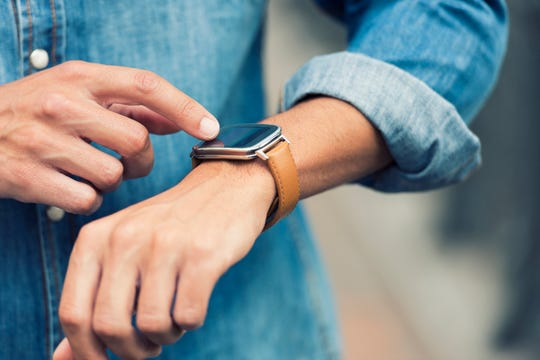 Keep track of more than just time with a new smart watch.