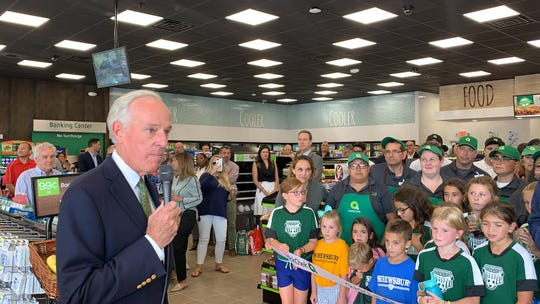 Dean Durling, chief executive officer of QuickChek, talks about the new QuickChek on Shrewsbury Avenue in Shrewsbury.