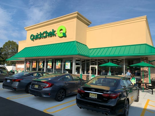 QuickChek opens its Shrewsbury convenience store on Tuesday Sept. 24, 2019.