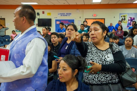 Lakewood school parents demanded improvements in the transportation service for their children.