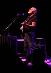 Robert Hunter, pictured on Oct. 1, 2013 at the Count Basie Center for the Arts in Red Bank, then known as the Count Basie Theatre.