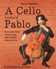 Cellist Amit Peled wrote a children's story about how he came to play the instrument of a master. He will read this book Saturday at Adamson-Spalding Storybook Garden.