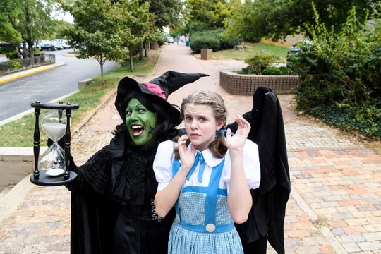 The Asheville Community Theatre presents The Wizard of OZ.
