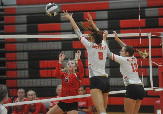 The Buckettes look to add yet another sectional title to the crowded trophy case next week.