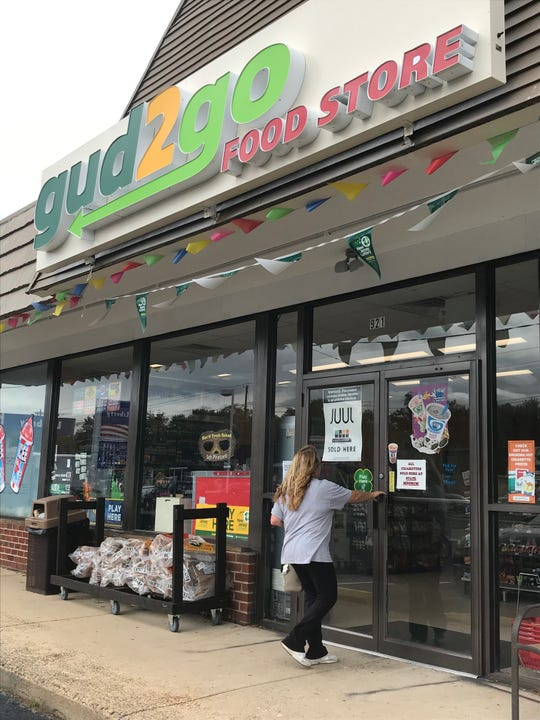 Gud2Go opens as new convenience store in the Woodstream shopping center in the Marlton section of Evesham after it was forced to close as a Valero gas station store when that property on Route 70 at N.  Cropwell Road was sold.