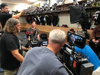 Cameras have been rolling, soon it's showtime for Flyers' 'Behind The Glass'