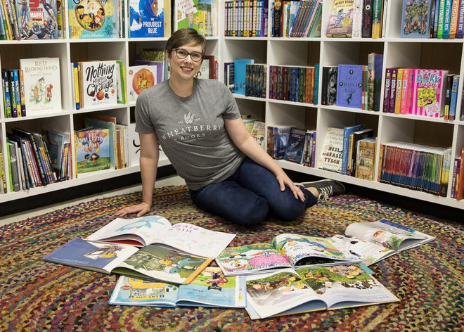 Bainbridge native Chelsea Bruning is the owner of Wheatberry Books, named after her grandmother's pie, and since its opening in 2017 has been located in Downtown Chillicothe.