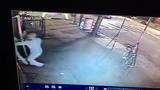 Surveillance video showing part of the May 24, 2017, attack of Jonathan Pratt in New York City.