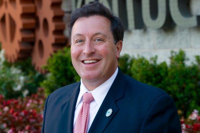 City of Newport Vice Mayor Tom Guidugli Jr. announced his mayoral campaign.