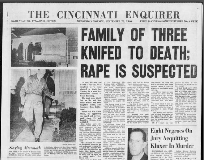 The triple homicides of Jerry, Linda and Debbie Bricca in September 1966 terrified and captivated the city. Fifty-two years later, the mystery of the massacre endures because no one has ever been charged with the slayings.