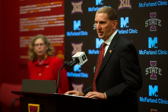 Jamie Pollard's austerity cuts at Iowa State buy the athletics program some time.