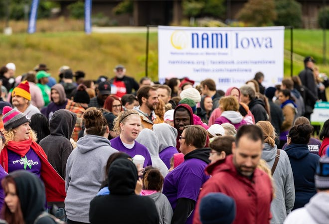 The National Alliance on Mental Illness will host a walk Saturday at Terra Lake Park in Johnston.