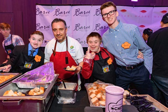 From the 2018 Best Buddies Iowa 'Chef Challenge.'
