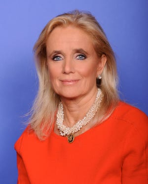 Debbie Dingell, a Democrat from Dearborn, representing Michigan's 12th Congressional District in the U.S. House of Representatives.
