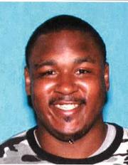Darius Calhoun, 26, fatally stabbed a woman Saturday at a residence in Detroit.
