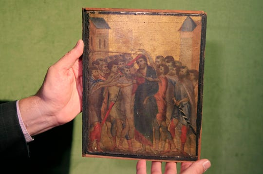 "Cimabue's ""Christ Mocked."""
