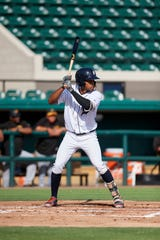 Tigers outfield prospect Jose Azocar hit .286 in 129 games at Double-A Erie this season.