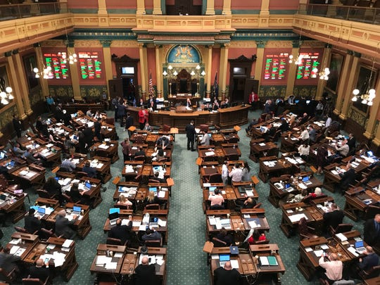 The GOP-led Michigan House and Senate adopted Tuesday a $5.3 billion transportation budget, setting up a partial government shutdown showdown because of Gov. Gretchen Whitmer's opposition to its one-time road funding hikes.