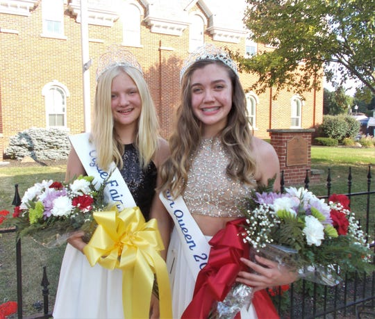 Casie Rettenmund, 15, was named Clyde Fair Queen on Sept. 20 and Elle Kofron, a sixth grader at McPherson Middle School was the first runner up.