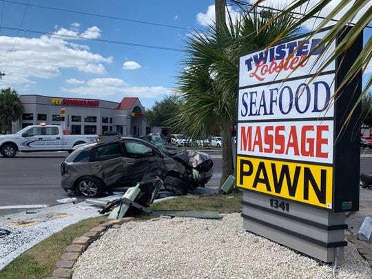 Two drivers were seriously injured in a crash in the  1400 block of Del Prado Boulevard South, Cape Coral, police said. The crash happened about 1 p.m. Tuesday, Sept. 24, 2019.