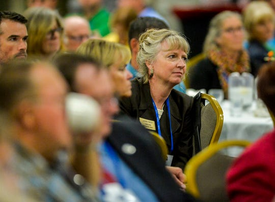 County commissioners from around the state gather at the Heritage Inn in Great Falls for the annual Montana Association of Counties conference, Sept. 22-26.