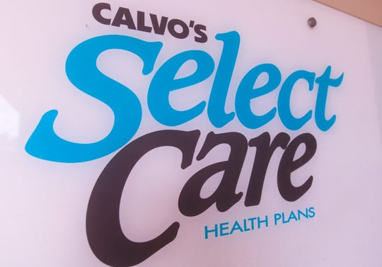 Signage outside the Calvo's SelectCare office in Hagåtña on Sept. 24, 2019.