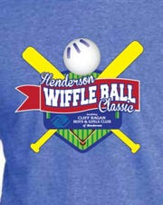 The T-shirt logo for the first Henderson Wiffle Ball Classic.
