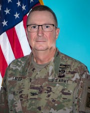 Gov. Eric Holcomb named R. Dale Lyles as the next leader of the Indiana National Guard on Tuesday, Sept. 24, 2019.