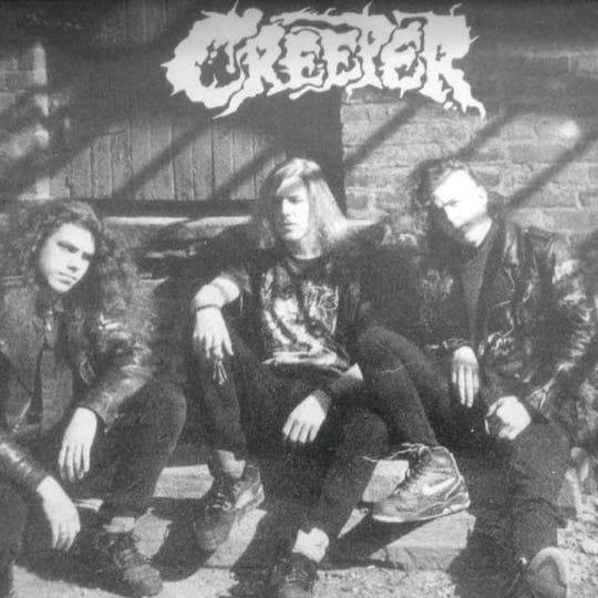 A 1990s-era promo photo of Creeper.