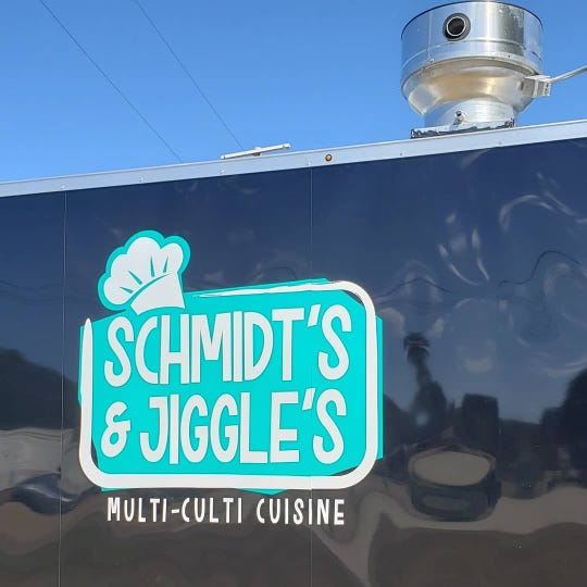 Schmidt's & Jiggle's Multi-Culti Cuisine is another new food truck that will be serving good eats at this year's Food Truck Mash-Up on Saturday, Sept. 28.