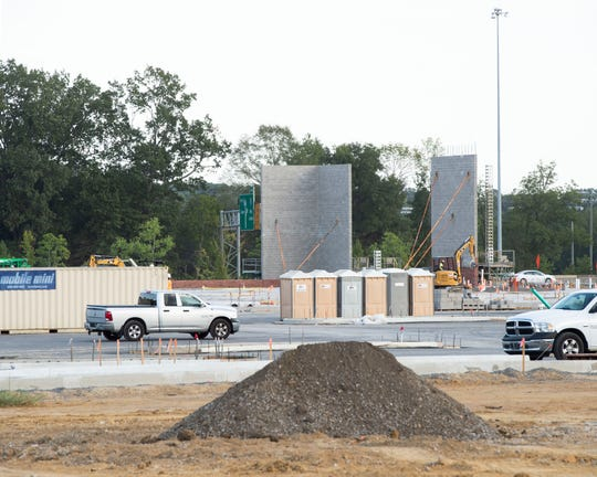 Scheduled to open in spring 2020, a Costco is under construction Tuesday, Sept. 24, 2019, on Highland Colony Parkway in Ridgeland.