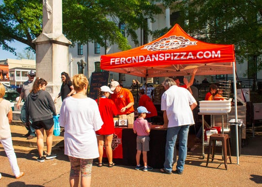 Fergndan's Wood Fired Pizza was new to Food Truck Mash back in March and is now making its second appearance on Saturday, Sept. 28.