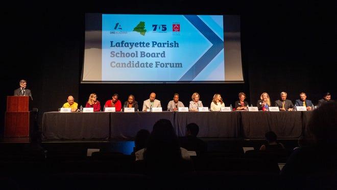 The Lafayette Parish School Board Candidate Forum at ACA. Monday, Sept. 23, 2019.