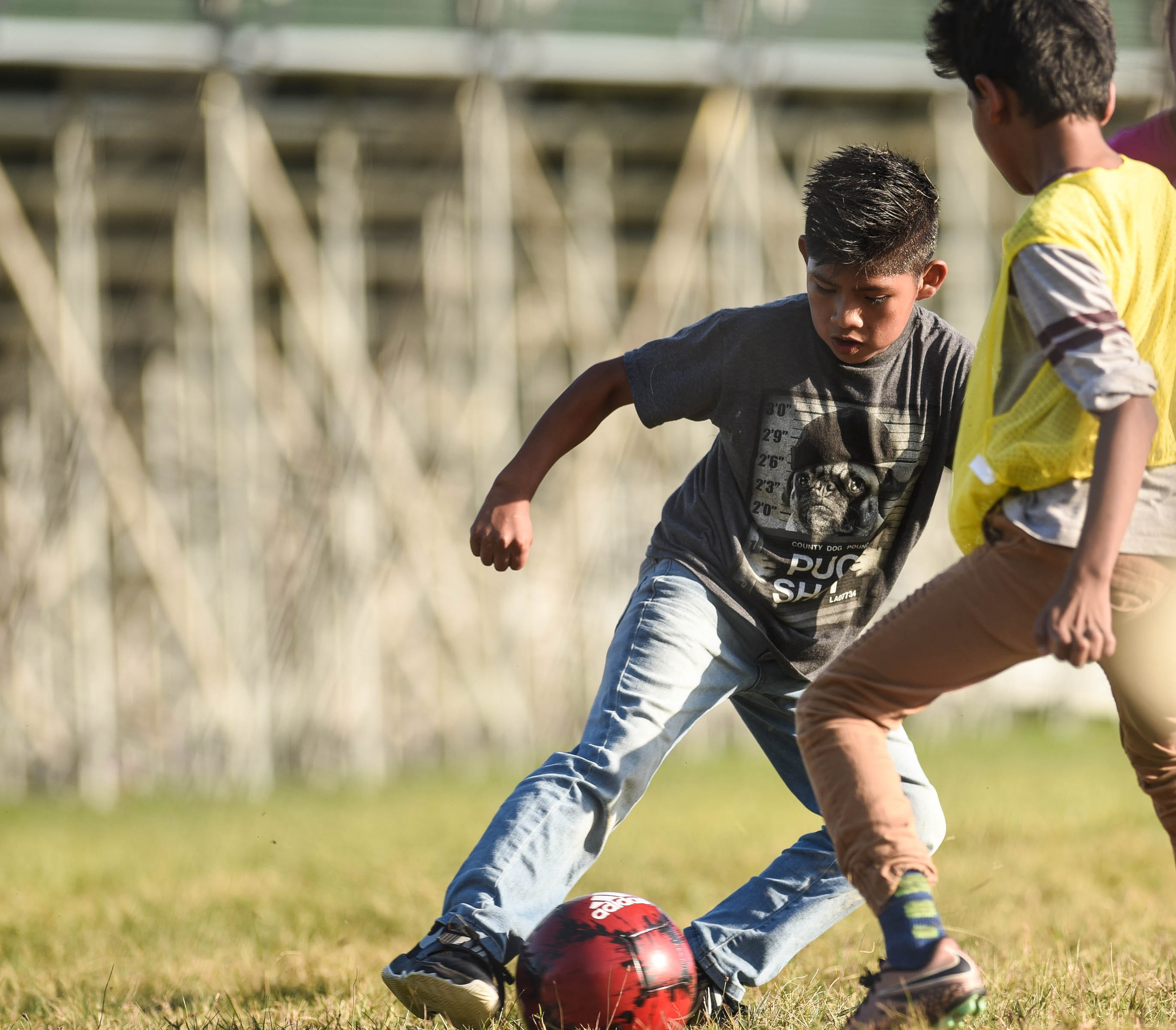 In Lansing A Soccer Team For Children Who Fled War And Violence