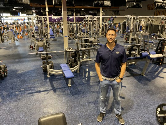 Adam Hourani, a Lansing native, who played tennis at Michigan State University before graduating with a degree in business, has opened Crunch East Lansing.