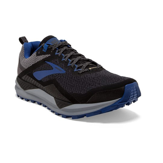 Brooks Running's Cascadia 14 GTX Is waterproof and perfect for weathering the trails.