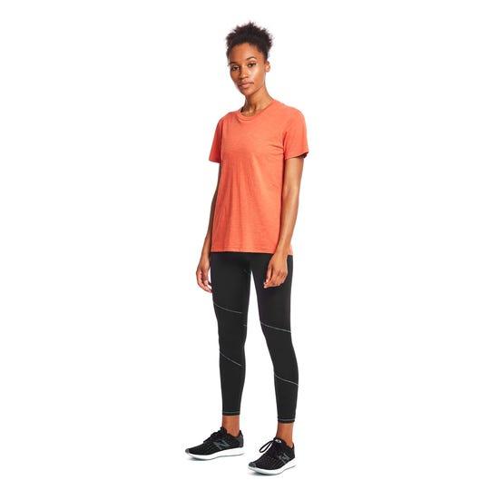 Start your layering with Janji's Runpaca short-sleeved tee.