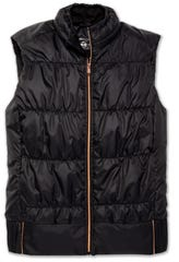 The Cascadia Vest by Brooks is a great layering option.