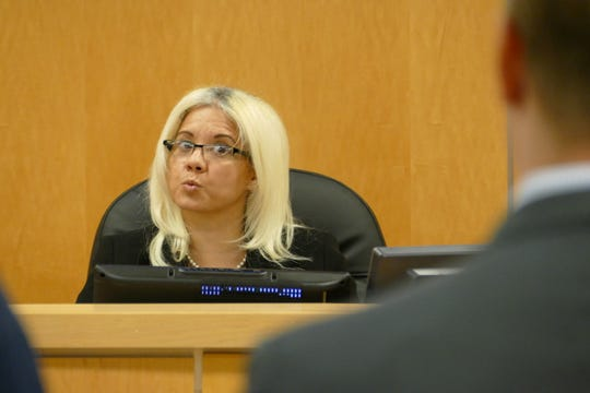 """Marco Island Code Enforcement magistrate Myrnabelle Roche said Tuesday she was concerned about Madeira's slow progress with Florida's Department of Environmental Protection. """"My concern is that this is exactly what I heard last time,"""" Roche said."""