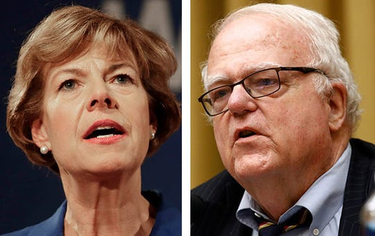 Sen. Tammy. Baldwin, a Democrat, signaled support Tuesday for the House impeachment inquiry into President Donald Trump, while Republican U.S. Rep. James Sensenbrenner criticized the move.