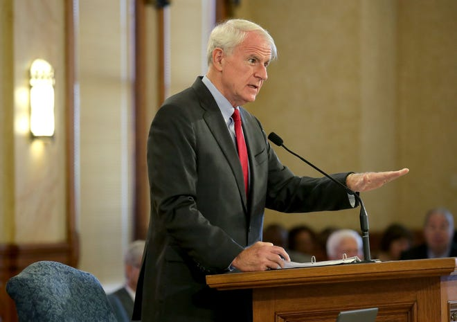 Milwaukee Mayor Tom Barrett presented his 2020 proposed budget to the Common Council Sept. 24.