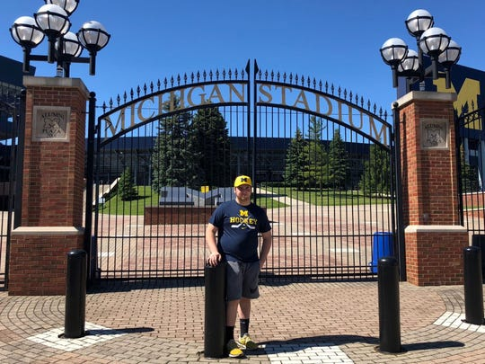 One of Ben Janowski's life goals is to attend the University of Michigan for college.
