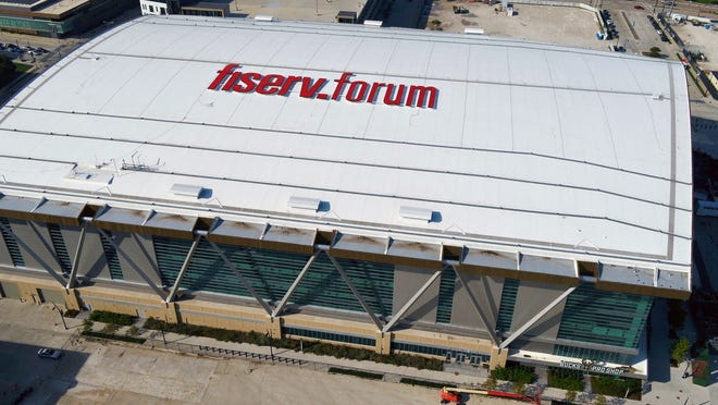 Fiserv Forum is the centerpiece of the Democratic National Convention, July 13-16.