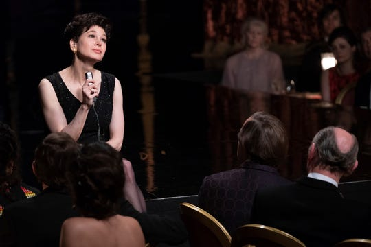 "Renee Zellweger plays pop icon Judy Garland in ""Judy."""