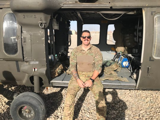 After nine years in the NFL, including five as a Green Bay Packer, Daryn Colledge joined the Idaho National Guard and deployed to Afghanistan as a crew chief in a medevac unit.