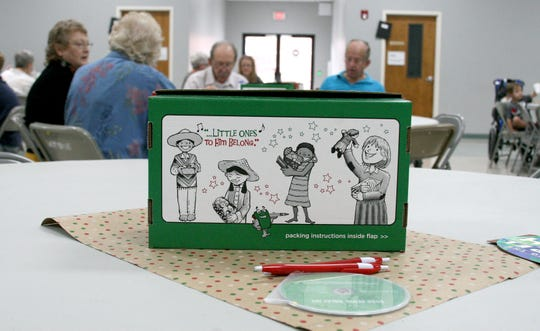 Since its inception in 1993, Operation Christmas Child has send 169 million gift-filled shoeboxes to needy boys and girls in more than 160 countries and territories. This year the North Central chapter hopes to collect 13,300 shoeboxes filled with school and hygiene items, along with candy and toys as part of the Samaritan's Purse – an international Christian relief an evangelical organization headed by Franklin Graham.