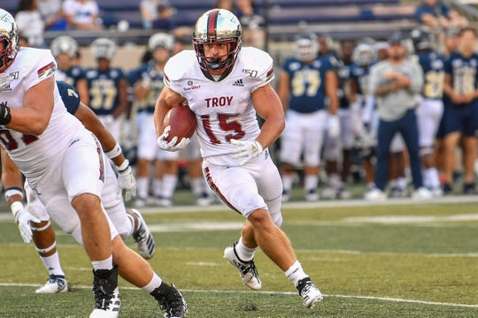 Tanner Blatt, a former Troy walk-on who gave up football more than a year ago, was recalled into service last week by the Trojans.