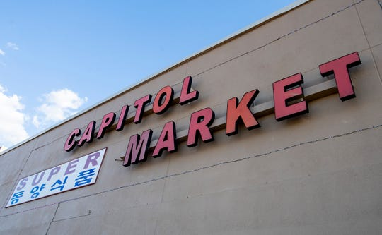 Capitol Market, shown in Montgomery, Ala., on Monday September 23, 2019, specializes in international and ethnic foods.